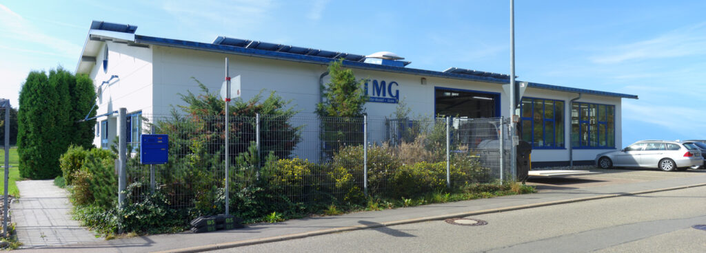 Modellbau Trautter Modell und Guss Firmengebäude
