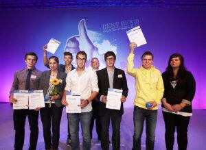 Tim Enderer (4. von links), Quelle: HWK Freiburg